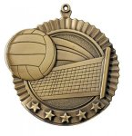 Volleyball Medal, 5 Star Series 5 Star Medal Series