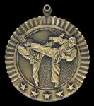 Karate Male Medal, 5 Star Series 5 Star Medal Series
