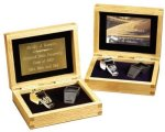 Coach's Whistle with Oak Presentation Box 50 Favorite Gift Ideas