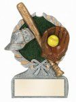 Softball Multi-Color Activity Trophy Activity Wreath Series