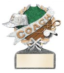 Coach Multi-Color Activity Trophy Activity Wreath Series