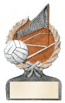 Volleyball Multi-Color Activity Trophy Activity Wreath Series
