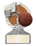 Basketball Multi-Color Activity Trophy Activity Wreath Series
