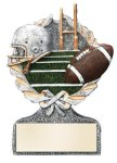 Football Multi-Color Activity Trophy Activity Wreath Series