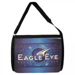 Black Shoulder Bag with Color Imprint Bags, Coolers, and Totes
