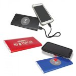 8000MAH Power Bank & Wireless Charger, 3 colors Desk & Office Accessories