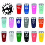20 oz.Vacuum Insulated Tumbler with Plastic Lid, 16 colors Drinkware