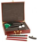 Rosewood Finish Executive Golf Set Games and Entertainment