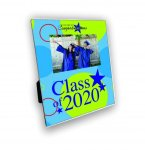 Imprinted Photo Frame with 4x6 Opening: Graduation Graduation Gifts