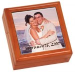 Keepsake Box with Ceramic Tile Household Gifts & Accessories