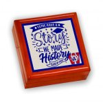 Keepsake Box with Ceramic Tile: Graduation Household Gifts & Accessories