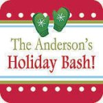 Drink Coasters, Square with Holiday Mprint Household Items & Accessories