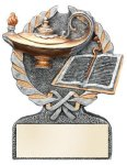 Lamp of Knowledge Multi-Color Activity Trophy Lamp of Knowledge Trophies