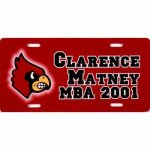 Color Imprinted Vanity Plate License Plate Frames & Accessories