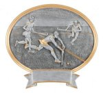 Field Hockey Oval Legend Award Oval Resin Plaque Series