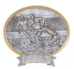 Rugby Oval Legend Award Oval Resin Plaque Series