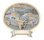Car Show Oval Legend Award Oval Resin Plaque Series