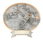 Choppers Oval Legend Award Oval Resin Plaque Series