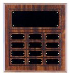 Perpetual Plaque with 12 Plates Perpetual Plaques