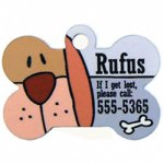 Pet ID Tag, Double Sided Full Color Pet Accessories