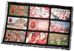 Blanket with 9 Photo Panels Photo Gifts