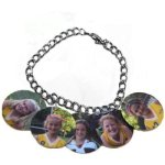 5 Charm Bracelet Photo Imprinted Items