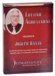 Rectangle Acrylic Award with Color Imprint Plaques & Awards