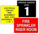 Room Signs, plastic, customized Room Signs, plastic, customized