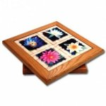 Lazy Susan with Color Imprinted Tiles Wedding Gifts